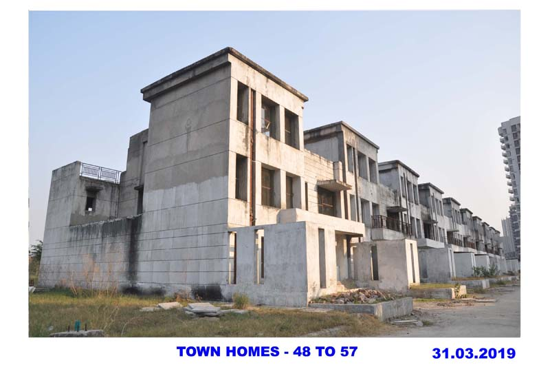 TOWN HOMES - 48 TO 57