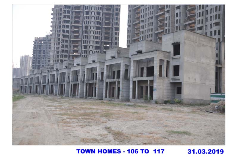 TOWN HOMES -106 TO 117