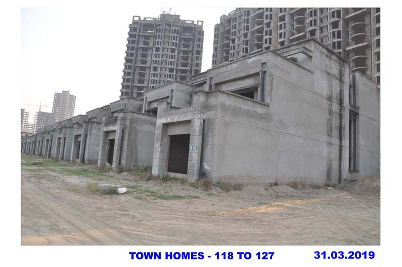 TOWN HOMES -118 TO 127